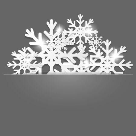 fiambres: Navidad decoración de fondo. Vectores