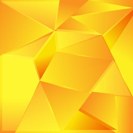 fond abstrait orange: R�sum� fond orange. Illustration