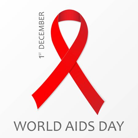 1 December World Aids Day poster.