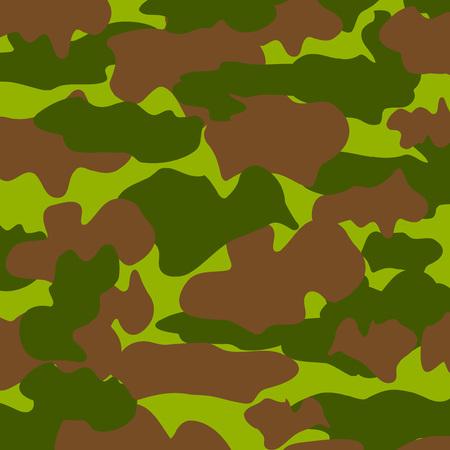 Camouflage pattern. Vector illustration.