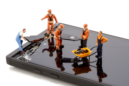 Electronics repair - Smartphone screen repair