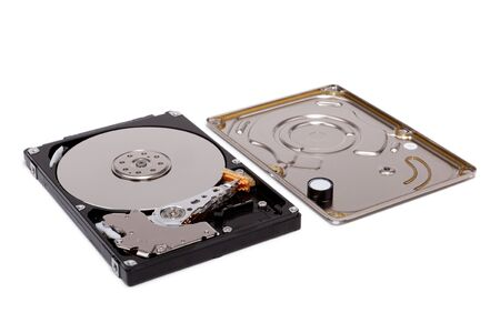 Disassembled hdd disk 2.5