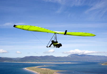 Green glider. Stock Photo - 1354537