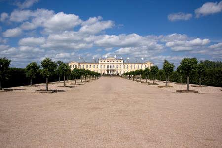 rundale: Rundale palace. Bauska, Latvia.