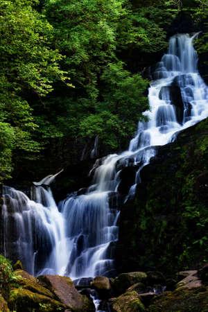 Beautifull waterfall. Stock Photo - 1358011