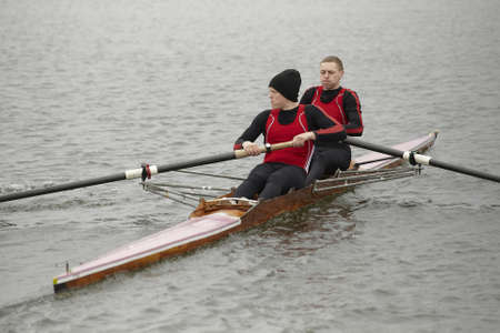 sculling: Competition on rowing  Editorial