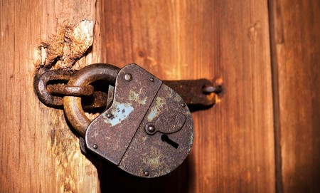 Old lock Stock Photo - 4287257