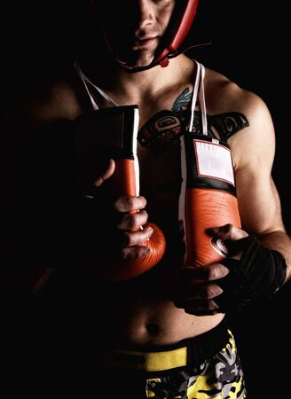Boxer fighter Stock Photo - 5612774
