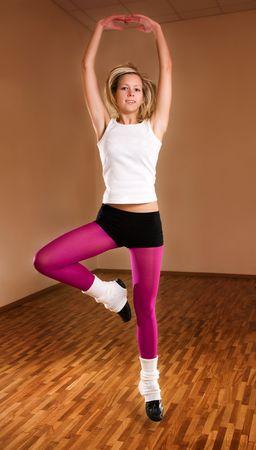 Dancer girl photo