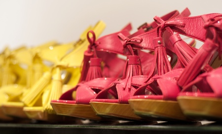 Shoes on the store (Shallow dof)  photo