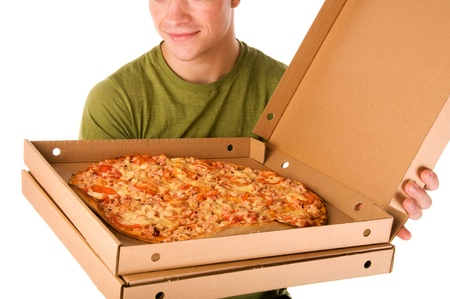 Pizza boy  photo