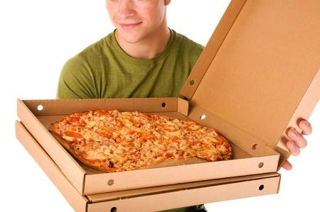 Pizza boy  photo
