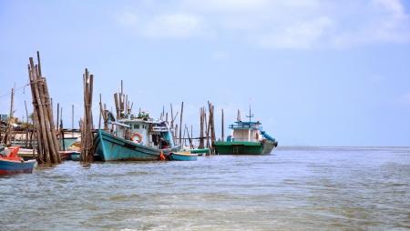 fishing village: Traditional fishing village, penang, malaysia