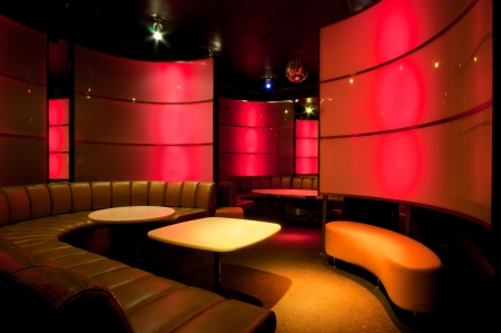 Picture of nightclub interior photo