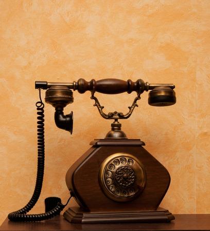 retro phone: Picture of retro phone