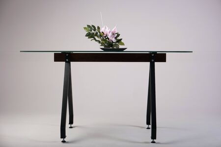 verre moderne atelier de table tir