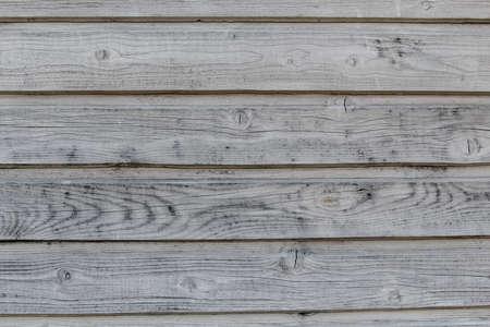 obsolete: horizontal texture of gray obsolete pine timber