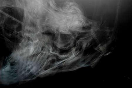 Smoke on black Stock Photo - 27588283