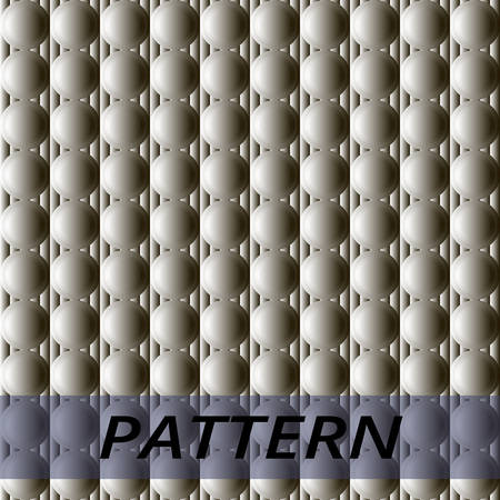 ease: pattern of buttons, white circles