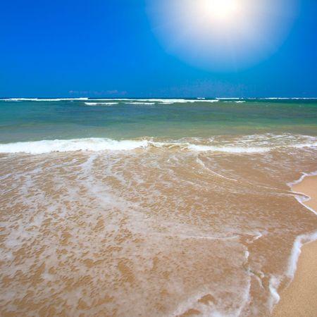 Beautiful ocean beach in summer Stock Photo - 3028036