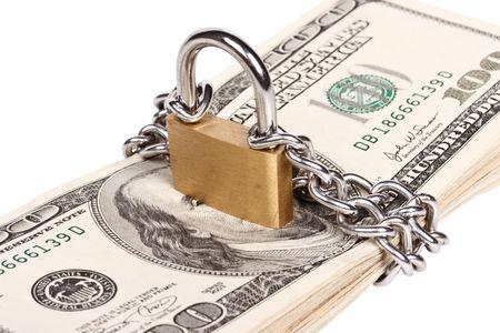 Money security concept photo