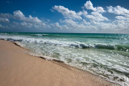 Beautiful beach and  waves of Casea Stock Photo - 4145149