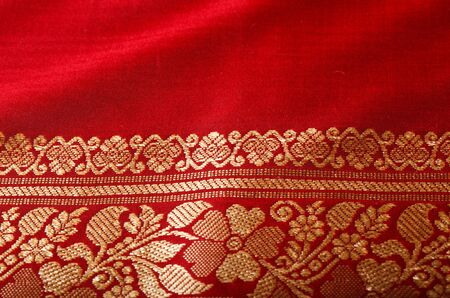 sari: Indian sari close up texture