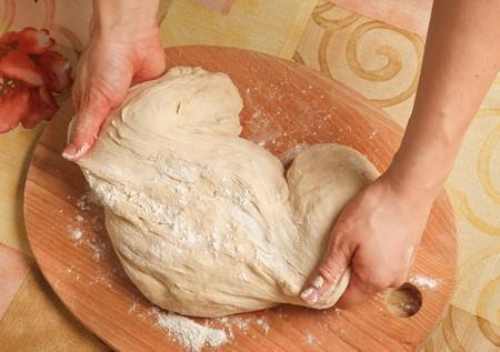 levadura: Hacer masa de levadura para pizza
