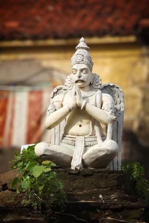 Stone Garuda (bird deity) statue Stock Photo - 7594396