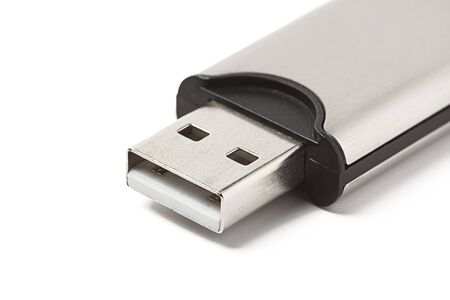 USB flash drive isolated on white background Stock Photo - 7937997