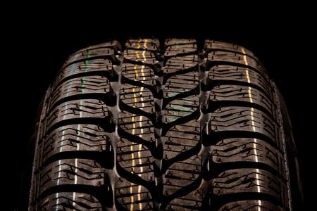 New car tire close up Stock Photo - 8363870