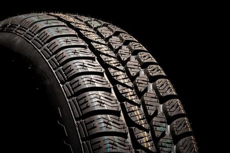 New car tire close up Stock Photo - 8363869
