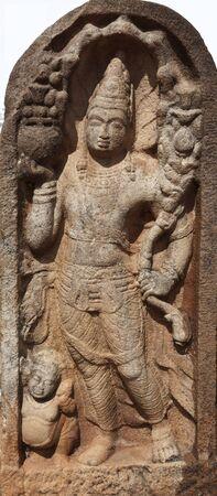 dagoba: Guardstone. Ruwanweliseya Dagoba, Anuradhapura, Sri Lanka