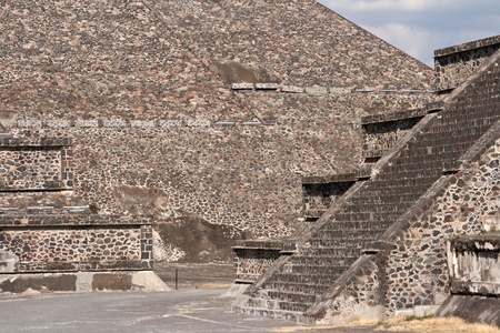 Teotihuacan Pyramids. Mexico photo