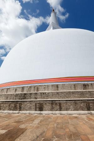 anuradhapura: Ruwanweliseya Dagoba. Anuradhapura, Sri Lanka