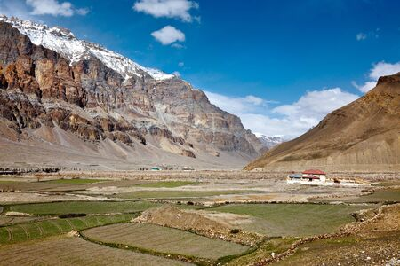 pradesh: Spiti Valley. Himachal Pradesh, India Stock Photo