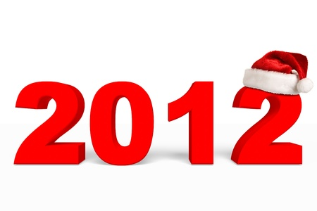 New Year 2012 Christmas coming Stock Photo - 11001214