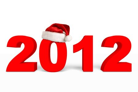 New Year 2012 Christmas coming Stock Photo - 11063238