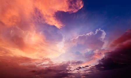 cloud formation: Dramatic sky