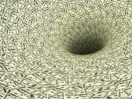 Money vortex photo