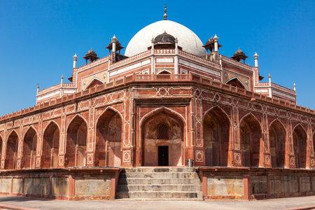 tumbas: Tumba de Humayun. Delhi, India.