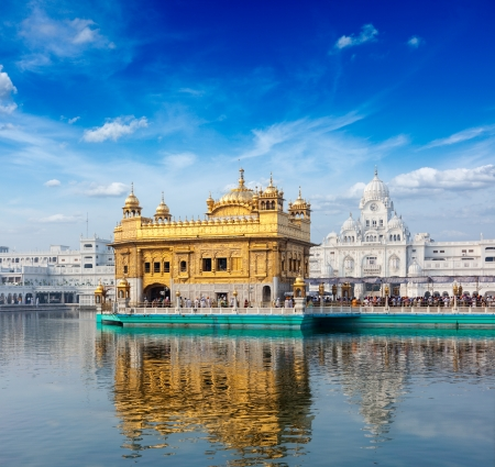 sikhism: Sikh gurdwara Golden Temple (Harmandir Sahib). Amritsar, Punjab, India Stock Photo