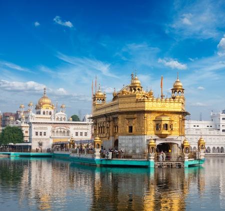 gurdwara: Sikh gurdwara Golden Temple (Harmandir Sahib). Amritsar, Punjab, India Stock Photo