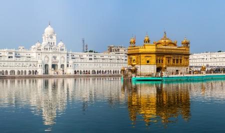 Gurdwara Sikh Golden Temple (Harmandir Sahib). Amritsar, au Pendjab, en Inde
