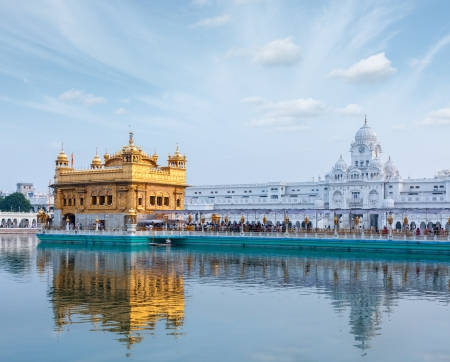 darbar: Gurdwara Sikh Golden Temple (Harmandir Sahib). Amritsar, Punjab, India