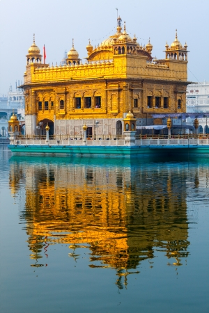 amritsar: Sikh gurdwara Golden Temple (Harmandir Sahib). Amritsar, Punjab, India Stock Photo