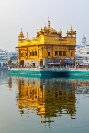 Sikh gurdwara Golden Temple (Harmandir Sahib). Amritsar, Punjab, India Stock Photo - 18543608