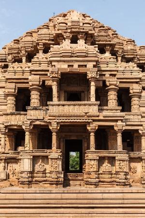 ka: Sasbahu (Sas-Bshu ka mandir, Sahastrabahu Temple) temple in Gwalior fort. Gwalior, Madhya Pradesh, India