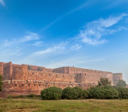 agra: Agra Fort. Agra, Uttar Pradesh, India