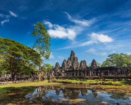 thom: Bayon temple, Angkor Thom, Cambodia